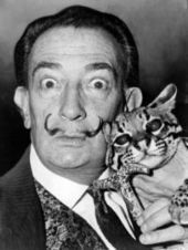 Salvador Dali tries his hand at 'Dynamic Painting' on 'I've Got A Secret' 1963 | Art Education | Scoop.it