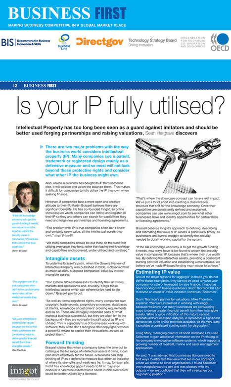 Is your IP fully utilised? | A New Paradigm of Development | Scoop.it