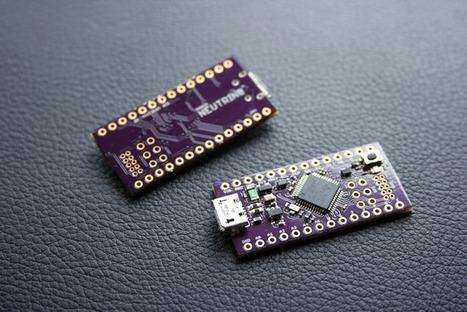 Neutrino: The tiny 32-bit Arduino Zero compatible! | Open Source Hardware News | Scoop.it