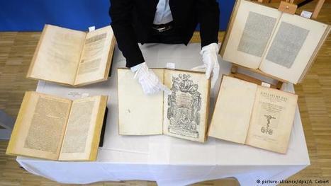 Bavaria returns stolen books worth millions to Naples   News   DW.DE   13.02.2015   Gentlemachines   Scoop.it