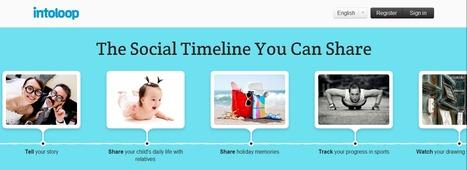 Intoloop Créer des timelines pour partager vos histoires. | Time to Learn | Scoop.it