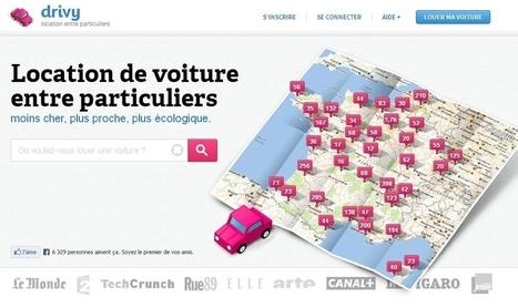 Drivy.com mise sur la consommation collaborative   L'ACTUAWAM   Scoop.it