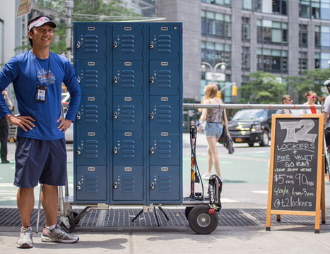 Central Park Lockers for Runners - Gear Patrol | Health and Fitness | Scoop.it