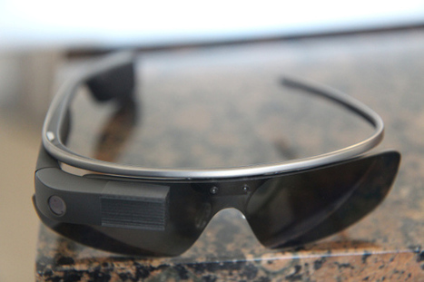 This $2.42 3D-printed 'sunshade' makes Google Glass easier to use - and less creepy | #Technology | Scoop.it