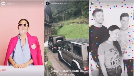 5 Examples of How Brands are Using Instagram Stories to Enhance their Messaging | Digital Brand Marketing | Scoop.it