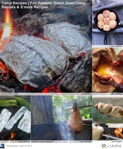 EASY Camping Recipes | Clipzine Pages | Scoop.it