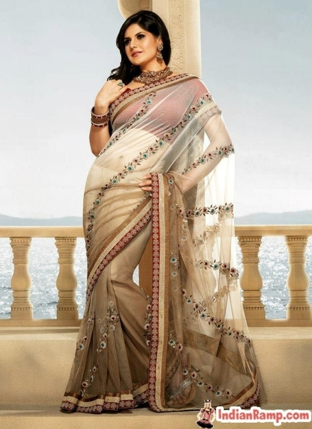 Zarine Khan in Designer Lehenga Saree, Bollywood Fashion Sarees | Indian Fashion Updates | Scoop.it