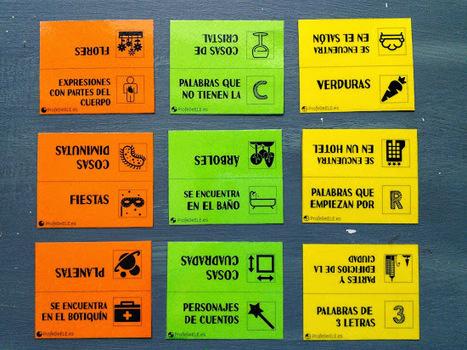 Juego de fichas de categorías para el vocabulario: ProfeDeELE.es | Las TIC en el aula de ELE | Scoop.it