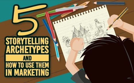 5 Storytelling Archetypes and How to Use Them in Marketing | Visioni digitali & Formazione | Scoop.it