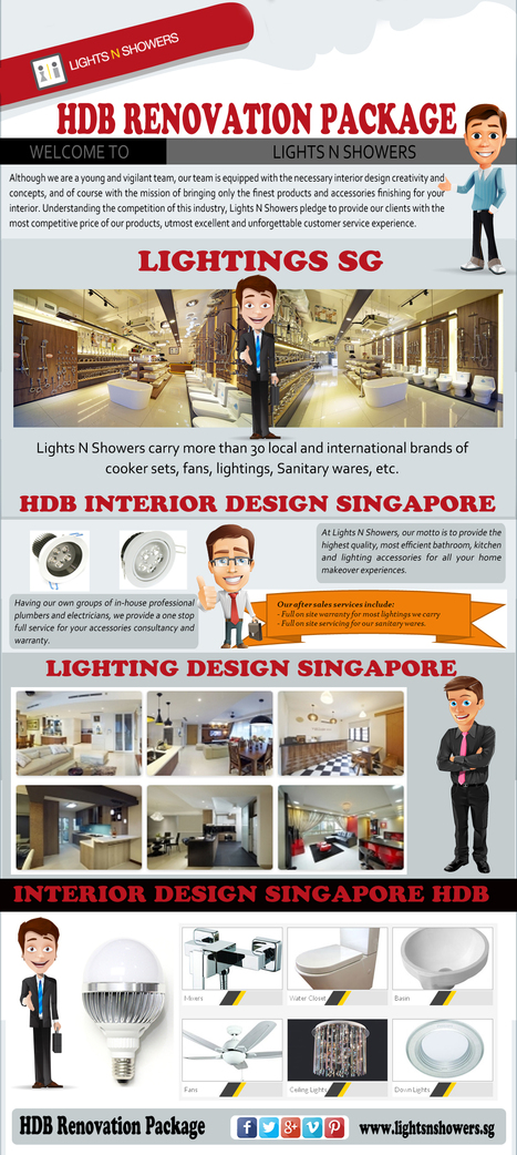 HDB Renovation Package | Lighting Shop Singapore | Scoop.it