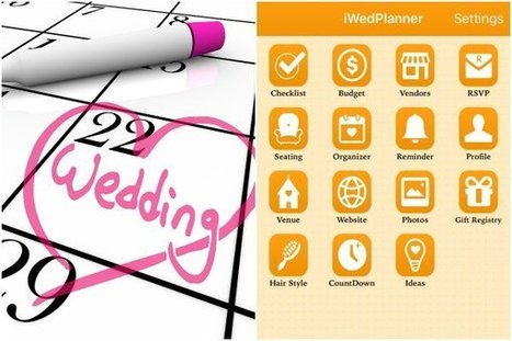 Get all wedding planning ideas now on your iPhone and iPad | iWedPlanner | Wedding Planner | Scoop.it
