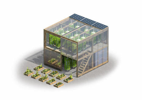 This Flatpack 2-Story Farm Is Designed To Pop Up On Empty Lots | Vertical Farm - Food Factory | Scoop.it