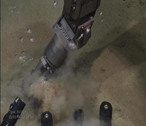 Vulcão de lama filmado a libertar metano no golfo de Cádis | Proteção e Conservação da Natureza | Scoop.it