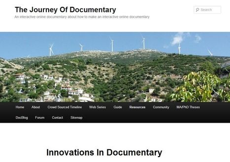 Innovations In Documentary | The Journey Of Documentary | Documentary | Scoop.it