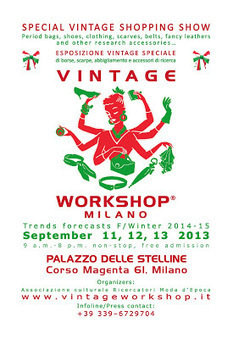 What is Vintage Workshop Milano? And which kinda goods and moods will be displayed? | Only the EXTRAordinary | Scoop.it