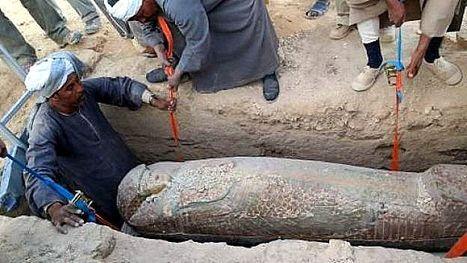 Egypte: découverte de la tombe vieille de 3.500 ans du chef des écuries royales des pharaons | Merveilles - Marvels | Scoop.it
