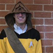 Worf hoodie lets you pull Klingon ridges over your forehead | Cosplay News | Scoo