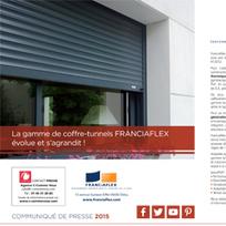 C - Franciaflex élargit sa gamme de coffre-tunnels ! | Décoration | Scoop.it