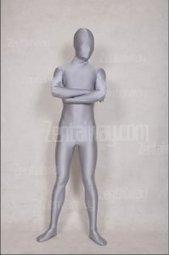 Grey Unisex Spandex Lycra Zentai Suit [a091] - $32.00 : Buy Zentai,zentai suits,zentai costumes,lycra bodysuit,bodysuit spandex,cheap,zentai wholesale,from zentaiway.com   unicolor zentai suits   Scoop.it