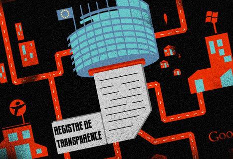La carte des lobbyistes du numérique | E-LOBBYING: L'influence est un pillier de l'Intelligence Stratégique | Scoop.it