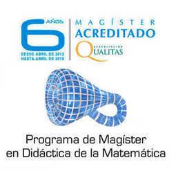 UCM |Últimos días para postular al Magister en Didáctica de la Matemática | Informática Educativa y TIC | Scoop.it