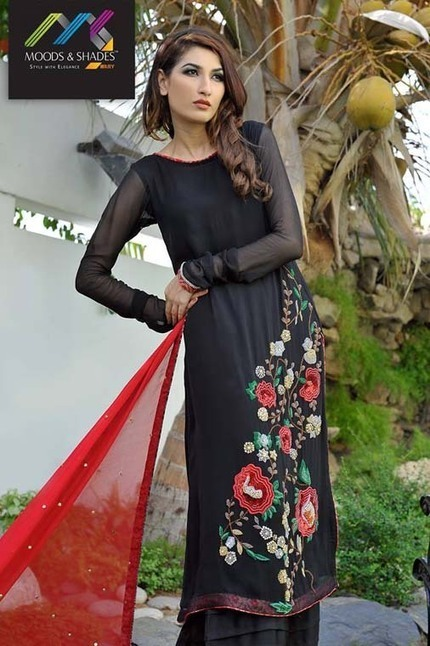 ARY Moods & Shades Eid Dresses Collection 2013 | stylostyle | Scoop.it