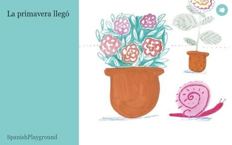 La primavera llegó - Spanish eBook on Storybird | Viva el Español | Scoop.it