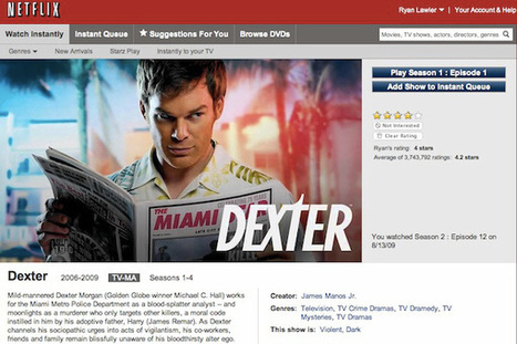 Netflix nabs all 8 seasons of Dexter in streaming deal with Showtime | TV Trends | Scoop.it