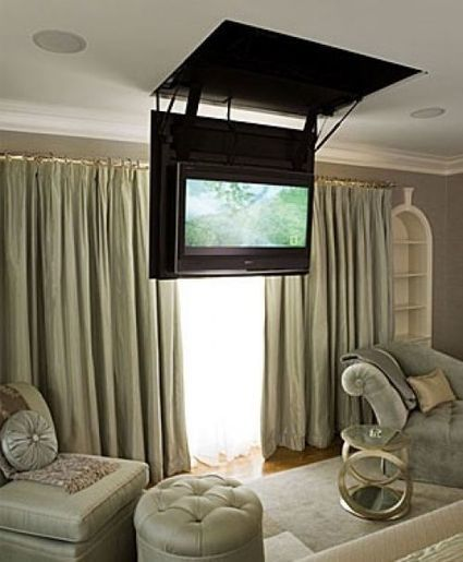 Ceiling TV Support | Technology, Gadgets & Gizmos | Scoop.it
