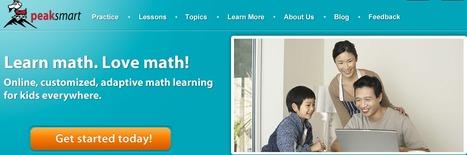 Peaksmart Adaptive Online Math Enrichment for K-12 | K-12 Math and Science | Scoop.it