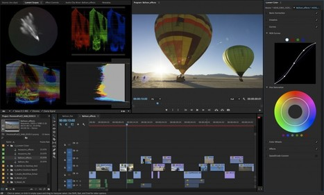 Premiere Pro Just Got Some Massive Upgrades to Its Color Correction Abilities | VideoPro | Scoop.it