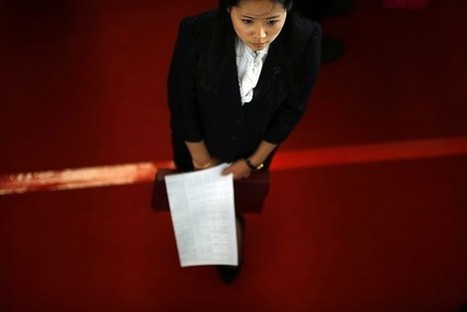 Chinese Women's Chances of Busting the Glass Ceiling? 1 in 15, Report Finds | A Voice of Our Own | Scoop.it