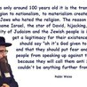 What do you know about Zionism?