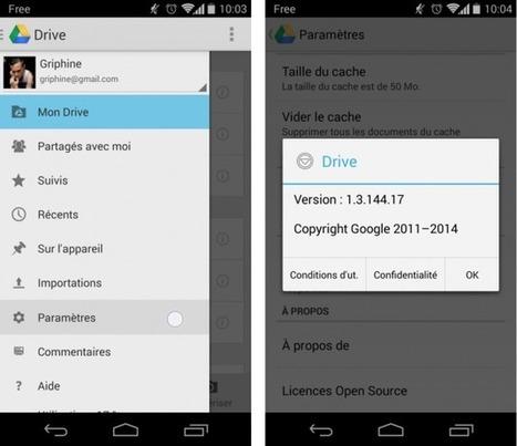 Google Drive 1.3 : Docs et Sheets sont dorénavant nécessaires à l'édition de documents | Google (For school) | Scoop.it