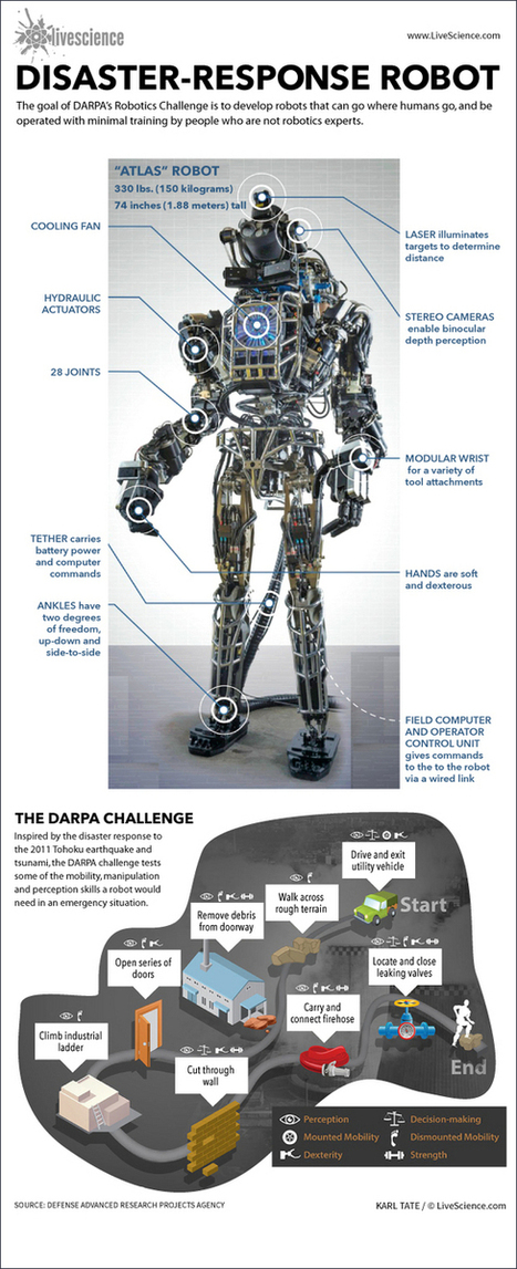 How DARPA's Robotics Challenge Works (Infographic) | Tracking the Future | Scoop.it