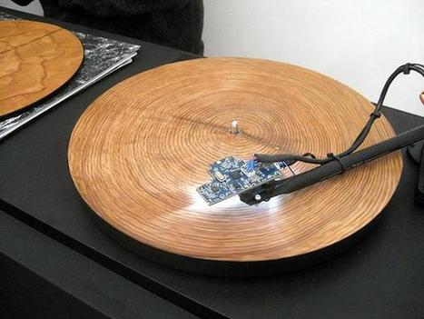 Así suenan los anillos de los arboles cuando son colocados en un toca discos | Music, Videos, Colours, Natural Health | Scoop.it