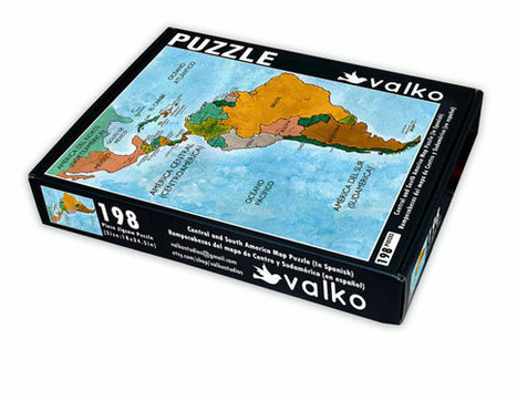 Spanish Language Map Puzzle of Central and South America (With Country Capitals) | Spanish language | Scoop.it