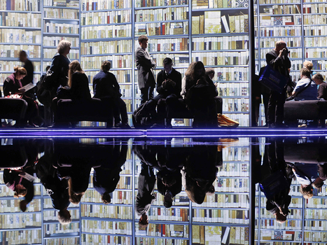 High-tech reflecting pool at the Frankfurt Book Fair - NBCNews.com (blog) | Be Bright - rights exchange news | Scoop.it