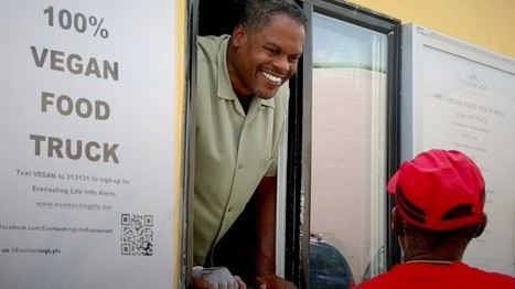 Vegan food truck makes rounds in 'food deserts' | AP Human Geography Herm | Scoop.it