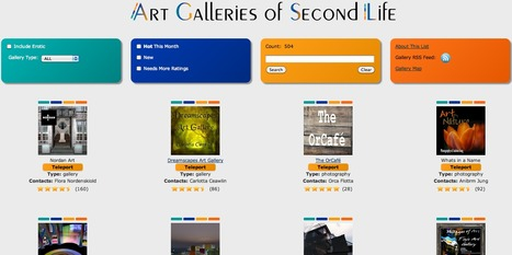 Art Galleries of SL | Digital Delights - Avatars, Virtual Worlds, Gamification | Scoop.it