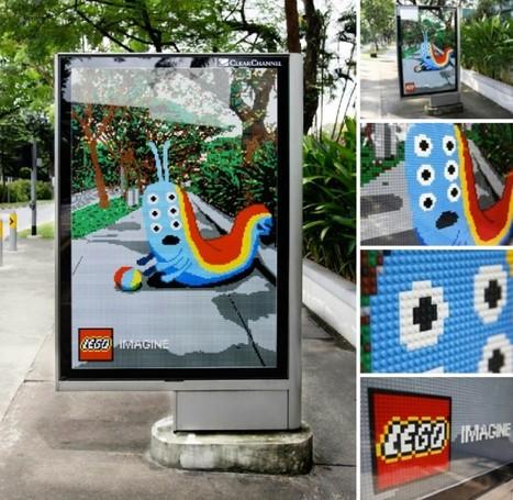 Lego s'affiche – Paperplane | Campagnes Pub qui tuent ou pas . | Scoop.it