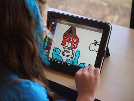 La tablette en maternelle : synthèse d'une expérimentation en France | Infobourg.com | Tablettes et éducation | Scoop.it