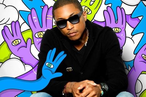 Comment Pharrell Williams est devenu une marque incontournable - Culturepub | Communication | Scoop.it