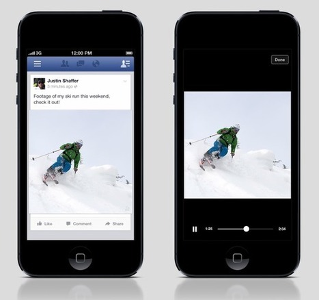 Facebook Confirms Autoplaying Video Trial For Ads In Newsfeed | AtDotCom Social media | Scoop.it