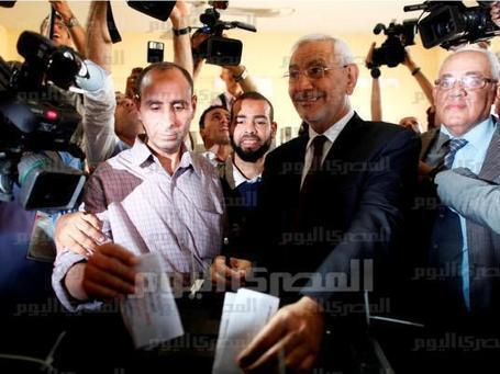 ElBaradei and Abouel Fotouh discuss alliance in next elections | Égypt-actus | Scoop.it