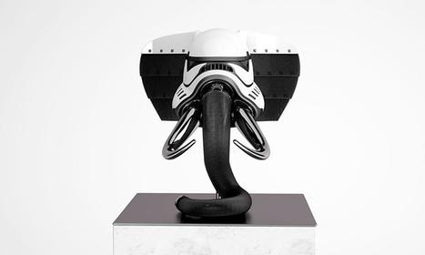 Stormtrooper Helmets Reimagined As Animals | Now that's creative! | Scoop.it