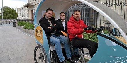 Des vélos taxi pour traverser le centre-ville de Montpellier - Midi Libre   mobilité en ville   Scoop.it
