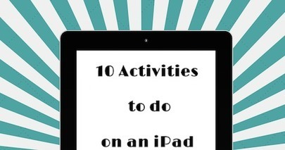 Comfortably 2.0: 10 Activities to do on an iPad instead of a Worksheet | mlearn | Scoop.it