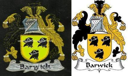 Barwick Family Crest Barwick Coat of Arms , handmade Embroidered bullion wire crest patches | Well Done Badges Co | Scoop.it