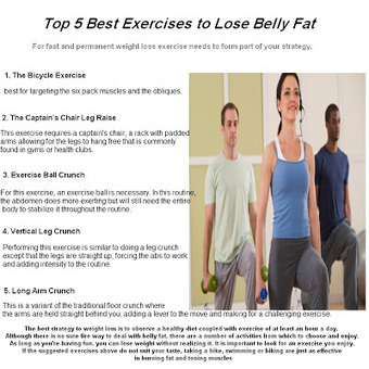 What's the Best Fat Burning Exercise? ~ Health and Fitness | Health and Fitness | Scoop.it